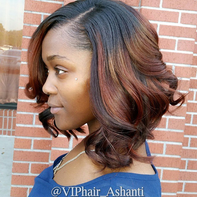African American Bob Hairstyles For Black Women
