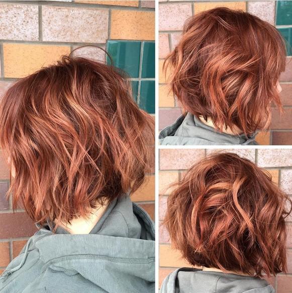 Brown Hair Light Brown Underneath