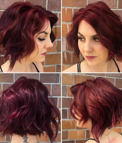 Stylish Curly Bob Hairstyle for Women Short Hair - Summer Haircut Ideas