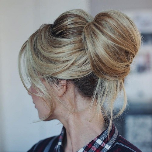 15 Cute Buns For Summer 2017 Bun Updo Hairstyles For