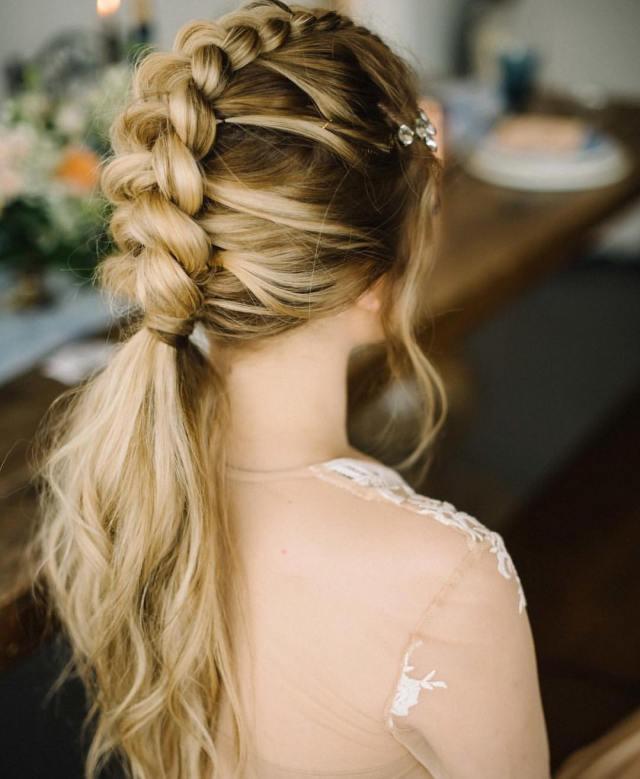 10 braided hairstyles for long hair - weddings, festivals
