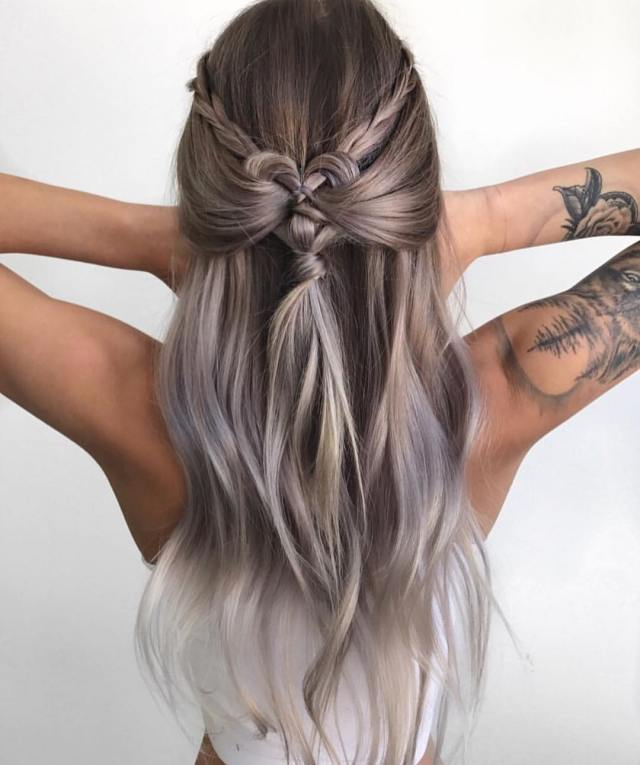 10 braided hairstyles for long hair - weddings, festivals