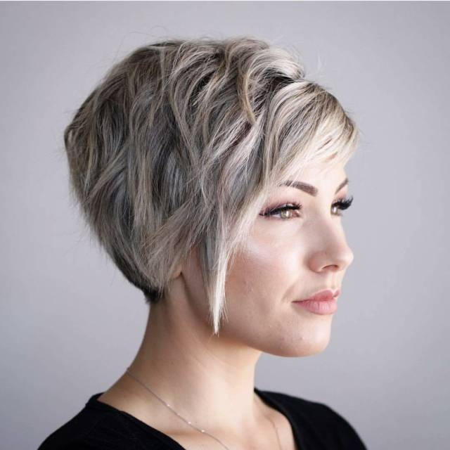 10 hi-fashion short haircut for thick hair ideas 2019