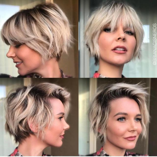 10 short shag hairstyles for women 2019