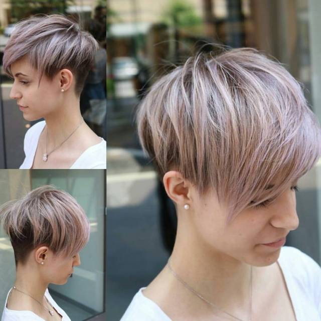10 easy pixie haircut styles & color ideas 2019