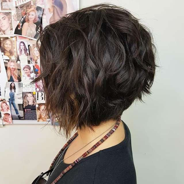 10 fab short hairstyles with texture & color 2019