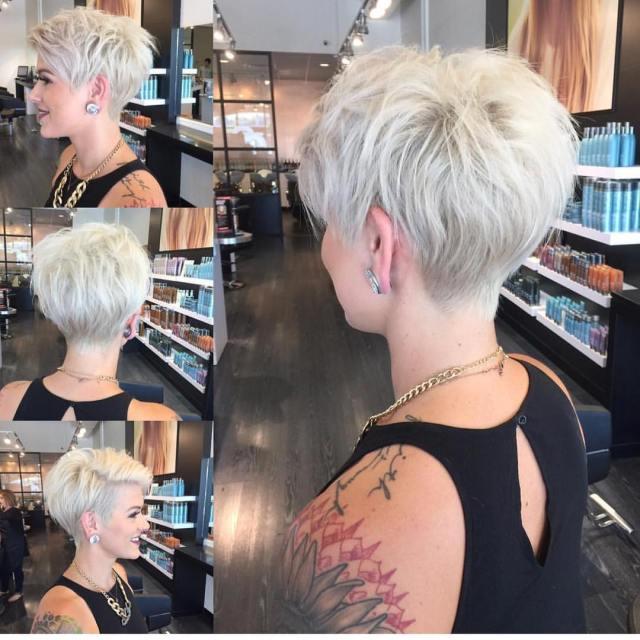 10 stylish pixie haircuts - women short undercut hairstyles 2019