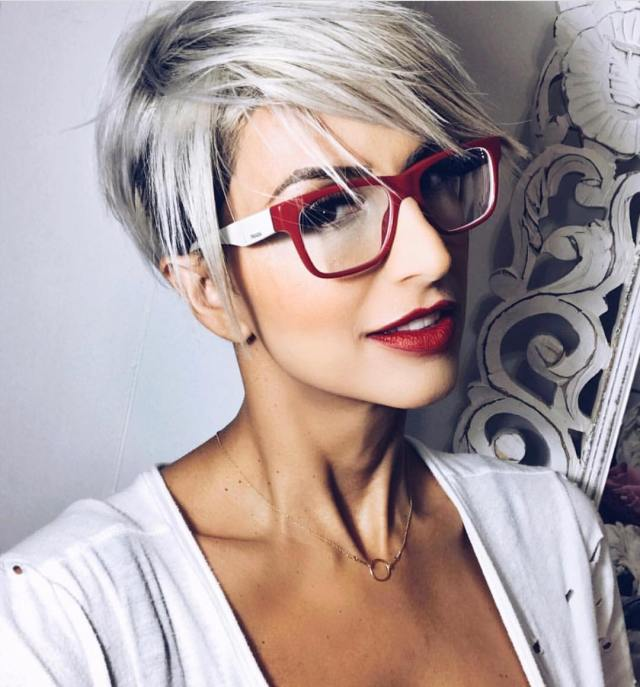 10 stylish pixie haircuts - women short undercut hairstyles 2019