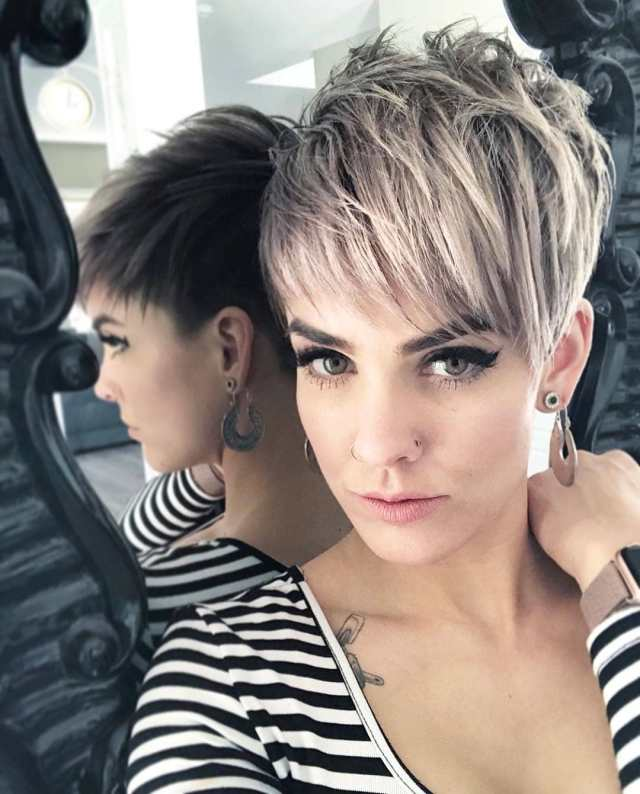 top 10 most flattering pixie haircuts for women, short hair