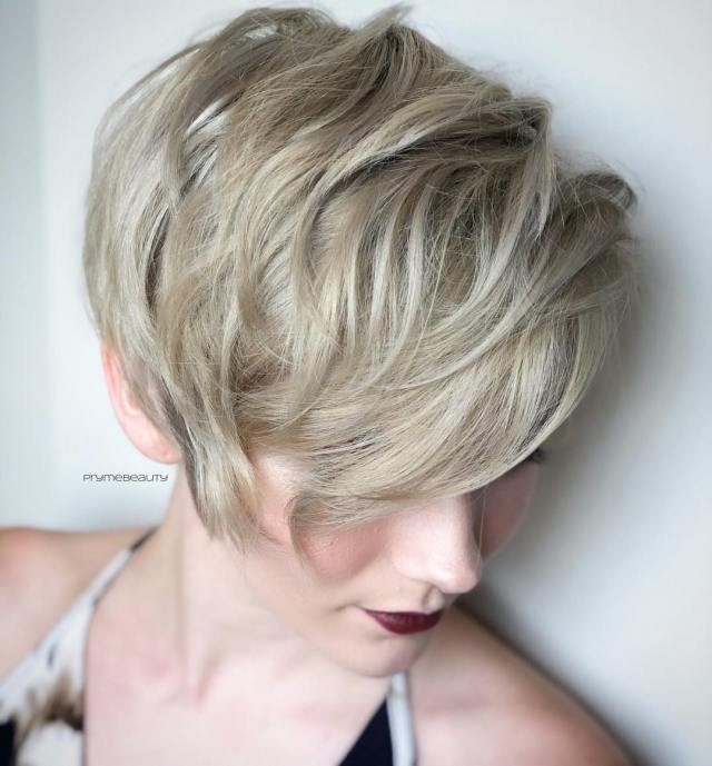 top 10 trendy, low-maintenance short layered hairstyles 2019