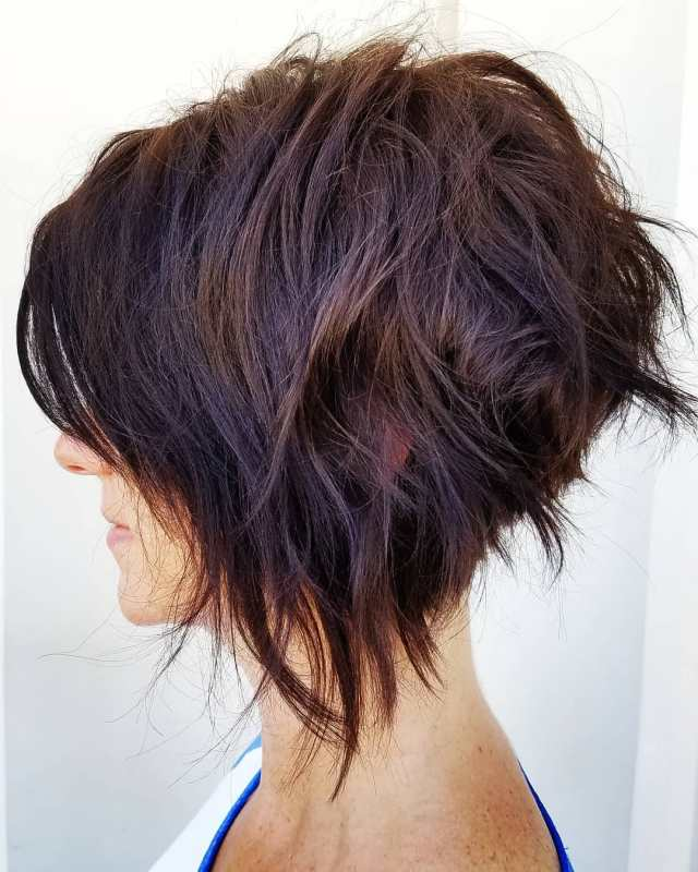 10 trendy messy bob hairstyles and haircuts, 2019 female