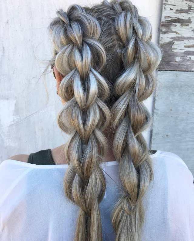 amazing braided hairstyles, braid hairstyle ideas for medium