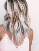 Modern Medium to Long Hairstyles, Ombre Balayage Hair Styles for Women