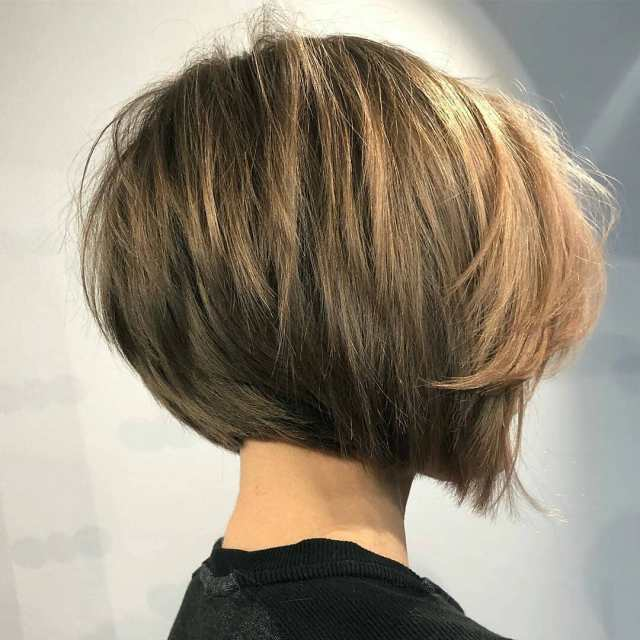 10 simple short straight bob haircuts, women short hairstyle