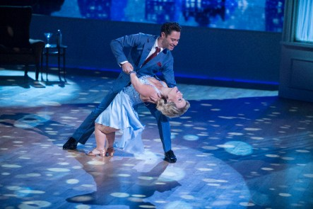 "DANCING WITH THE STARS - ""Episode 2302"" - The 13 celebrities get ready to dance to some of their favorite TV theme songs as TV Night comes to ""Dancing with the Stars,"" live, MONDAY, SEPTEMBER 19 (8:00-10:01 p.m. EDT), on the ABC Television Network. (ABC/Eric McCandless) SASHA FARBER, TERRA JOLÉ"