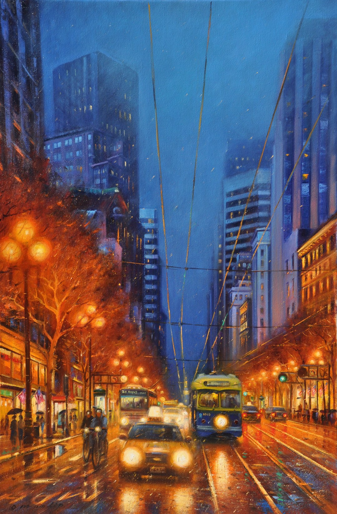 City Lights (San Francisco), 36x24