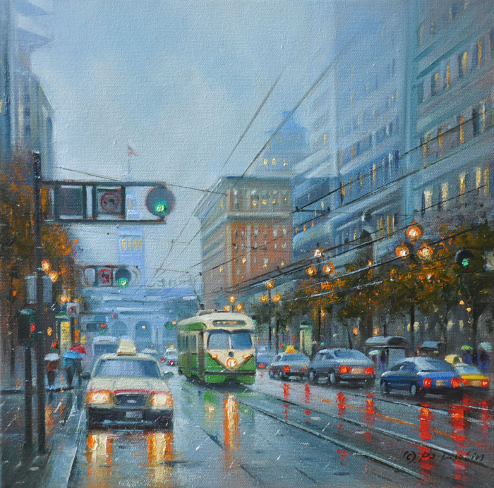 Early Morning (SF), 12x12
