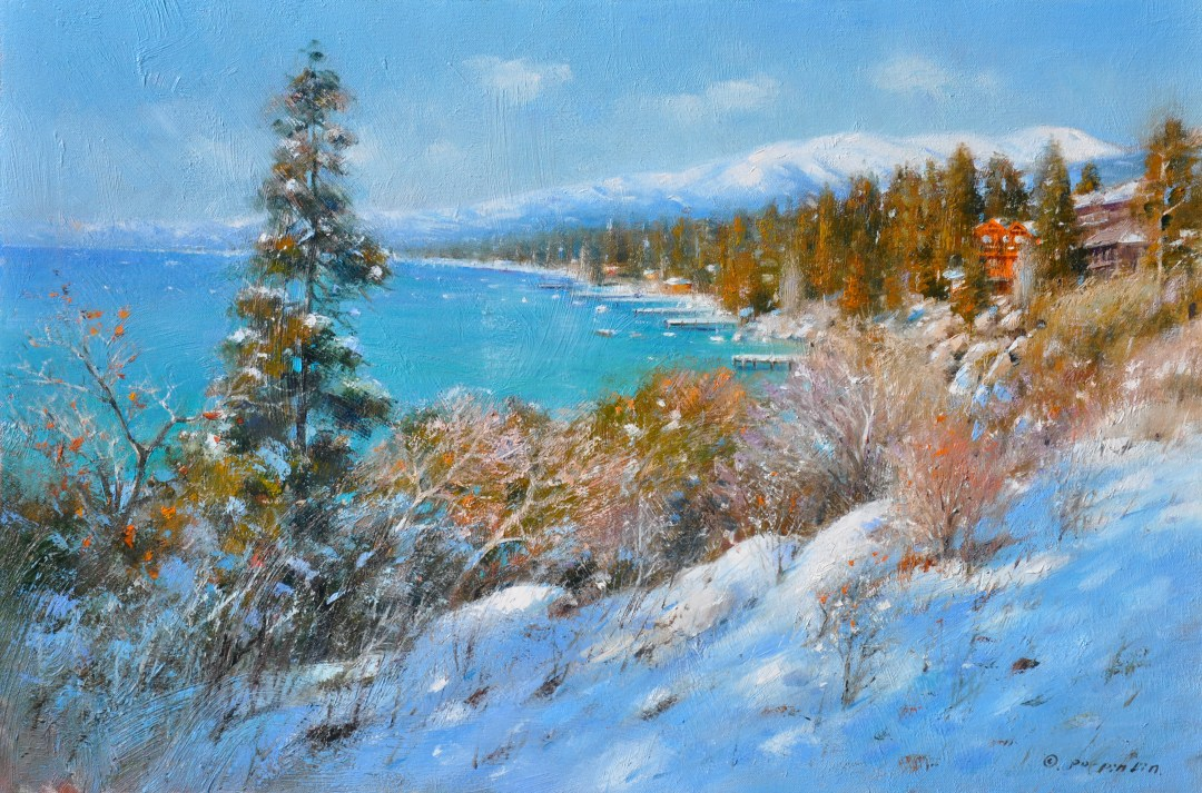 A Morning at Tahoe, 20x30