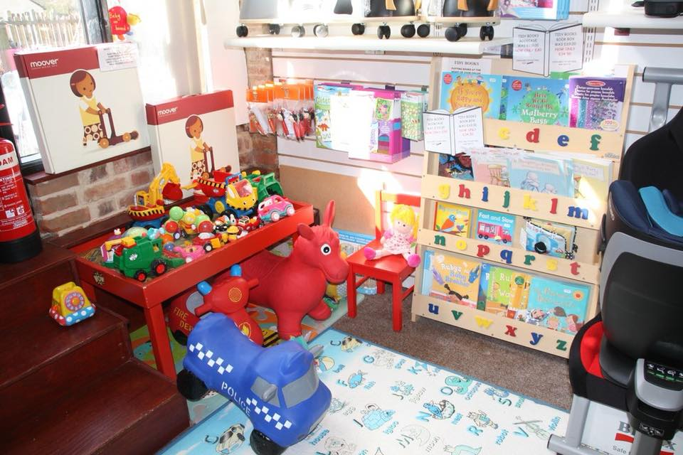 toys children can play with at whites farm baby barn
