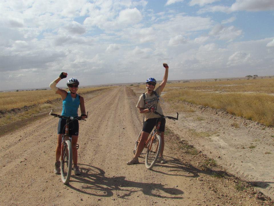 celebrating-finishing-the-cycling-safari