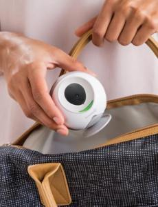 Summer Infant wireless travel monitor in a bag