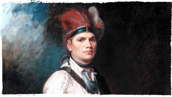 Joseph Brant also known as Thayendanegea