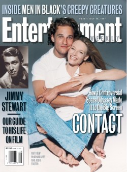 Entertainment Weekly cover with Jodie Foster