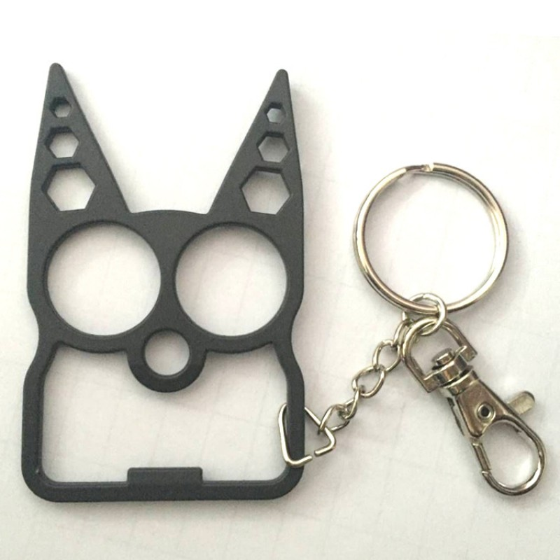 Skull And Wrench Keychain