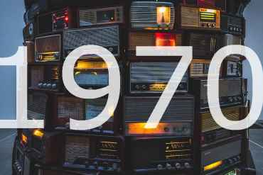 Alte Radios 1970