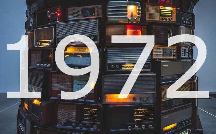 Alte Radios Jahr 1972