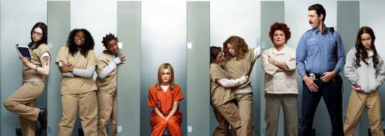 "Serien-Poster ""Orange is the new black"""