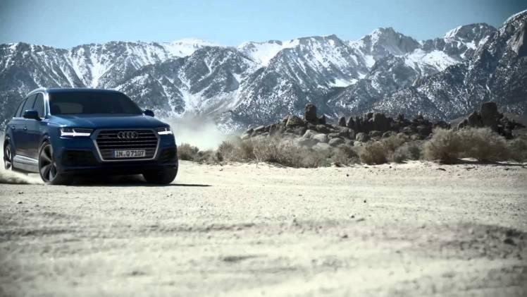 Screenshot aus Audi Werbung
