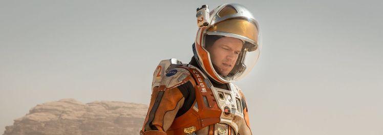 """Bild aus dem Film """"Marsianer rettet Mark Watney"""""""