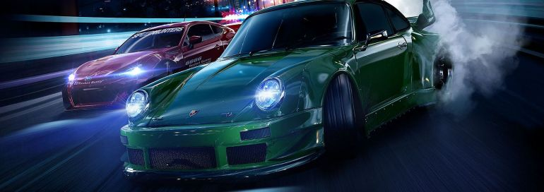 Screenshot aus Need for Speed Werbung