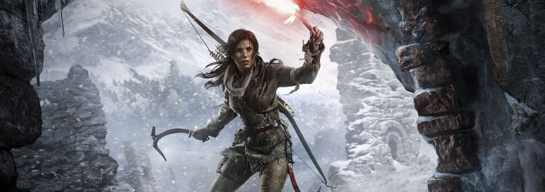 Screenshot aus Rise of the Tomb Raider Werbung
