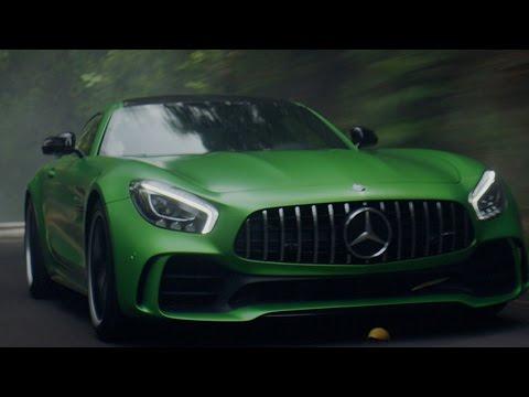 Screenshot aus Mercedes Werbung
