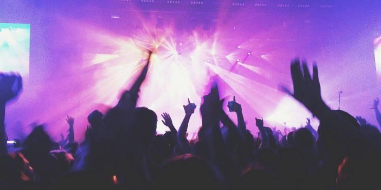 Party im Club