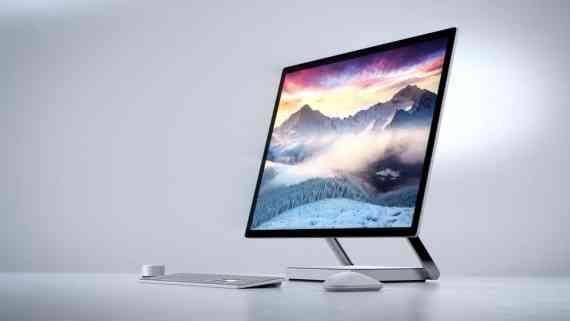 Screenshot aus Microsoft Surface Studio Werbung