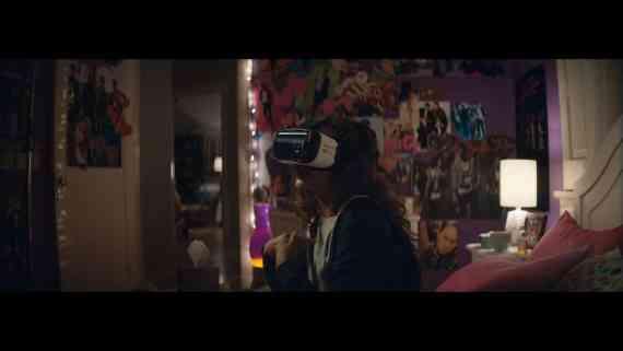 Screenshot aus Samsung Galaxy S7 Werbung
