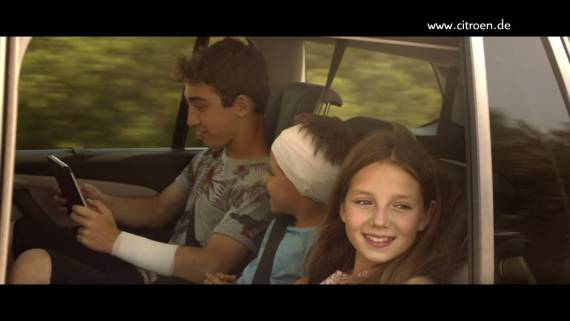 Screenshot aus Citroën C4 Picasso Werbung