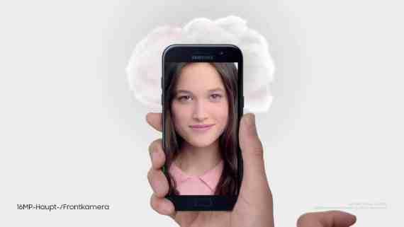 Screenshot aus Samsung Galaxy A Werbung