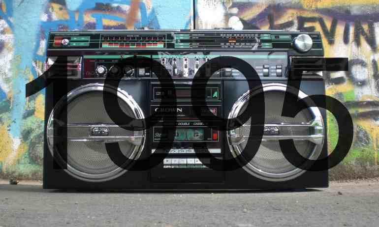 Altes Radio der 1990er Jahre