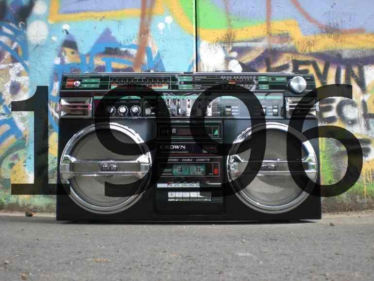 1990er Altes Radio