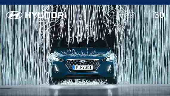 Screenshot aus Hyundai i30 Werbung