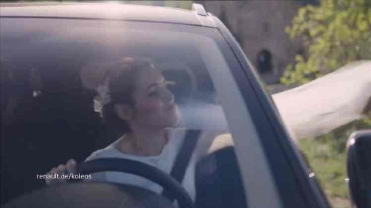 Screenshot aus Renault Koleos Werbung