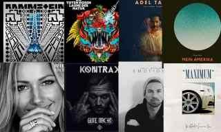 Verschiedene deutsche Alben aus dem Jahr 2017
