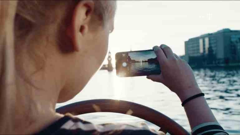 Screenshot aus Telekom Werbung