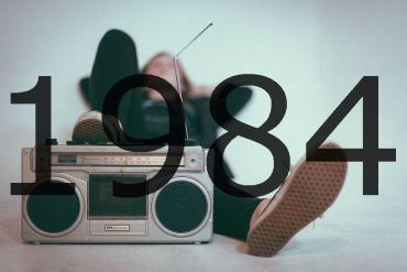 Altes Radio 1984