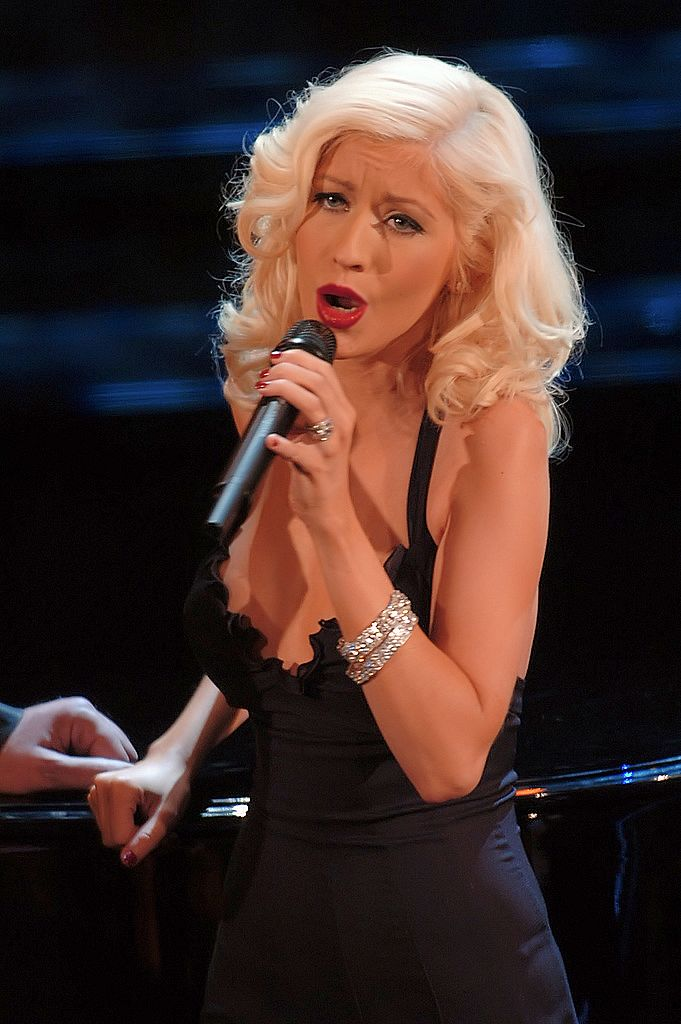 Photo by Raffaele Fiorillo, Christina Aguilera Sanremo, CC BY-SA 2.0