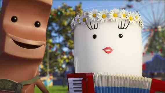 Screenshot aus Kinder Riegel Werbung